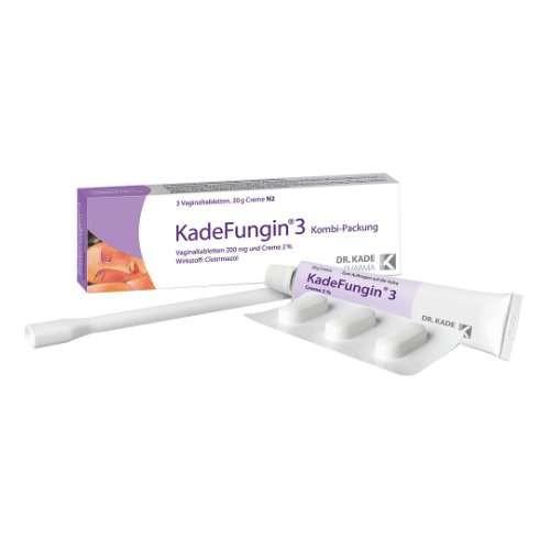 KADEFUNGIN 3 Kombip. 20 g Creme+3 Vaginaltabl.